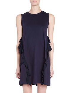 NO. 21 T-Shirt V-Back Dress