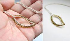 Leaf Pendant Necklace