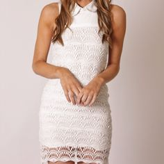 white on lace, HOT
