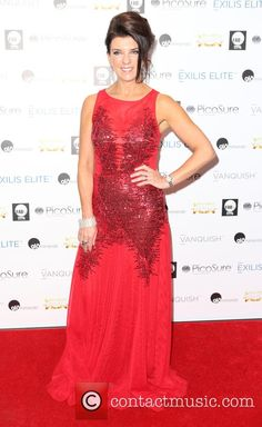 Dr Dawn Harper looking stunning in Bernshaw 'Soraya' dress at The My Face My Body Awards at Royal Garden Hotel - November 2014 Dawn Harper, Royal Garden, Looking Stunning, Awards, November, Formal Dresses, Celebrities, Lady, How To Wear