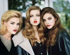 In the Mood for Red Lips - Photo by Alasdair McLellan, styled by Jane How