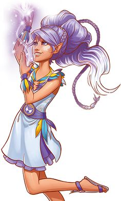 Aira Windwhistler #Lego Elves - Wind Elf