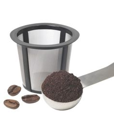 Keurig My K-Cup Reusable Coffee Filter (brew your own ground coffee instead of buying the Keurig cups). $17.99 Target