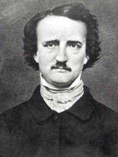 "Edgar Allen Poe said, ""A short story must...""....my #birthday & #Poe's death day are the same, I loved his stuff before I knew that-we're kindred spirits. All the love stories are about loss."