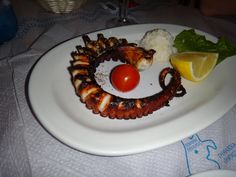 grilled octopus, amazing and soooo fresh!