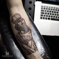 5473a04f6 Detailed black and grey realism forearm tattoo by Adam Thomas of Marked One  Tattoo. Forearm