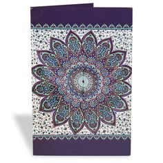Ethnic Floral Greeting Card  This beautiful floral card is a great way to make your invitations and greetings more effective and lovely. | Rs. 75 | Shop Now | https://hallmarkcards.co.in/collections/shop-all/products/ethnic-floral-greeting-card | Card Size :20.5*14