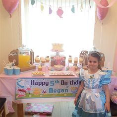 Megan Alice in Wonderland Party💖