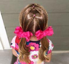 peinados niñas pequeñas con coletas