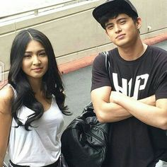 James Reid and Nadine Lustre Lady Luster, Human Body Organs, Matching Couple Outfits, James Reid, Nadine Lustre, Wendy Red Velvet, Princess Anne, Friends Day, Partners In Crime