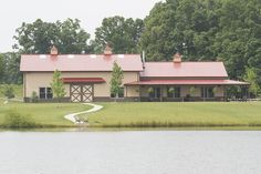 Morton Buildings custom home in Dickson, Tennessee.