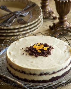 Orange Chocolate Raw Cheesecake