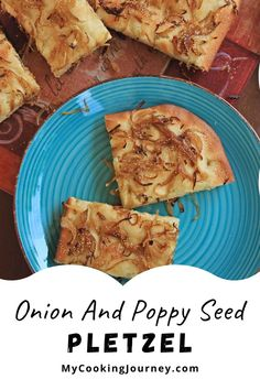 Onion and Poppy Seed Pletzel is a European flatbread similar to Focaccia. It is commonly referred to as the Onion Bread Board and can be found in bakeries in NYC. Best Homemade Bread Recipe, Onion Bread, Fruit Bread, Fall Dinner Recipes, Bread Board, Bread Baking, Bread Recipes, Good Food, Cooking