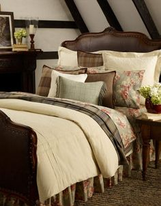 Ralph Lauren Shetland Manor bedding collection. I kind of love this.