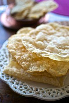 Luchi, pan de la India