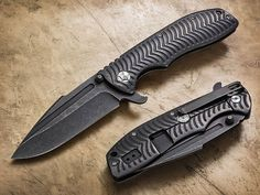 Tim Britton Tactical Folders | Robertson Custom Cutlery