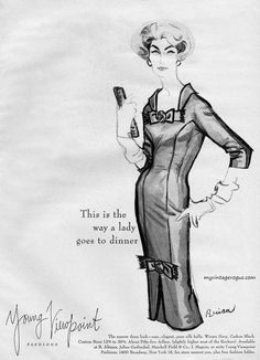 Young Viewpoint Fashions 1958 | myvintagevogue