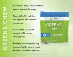 ItWorks! Greens - Chew