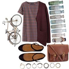 """""""cycle"""" by avecwanderlust ❤ liked on Polyvore"""