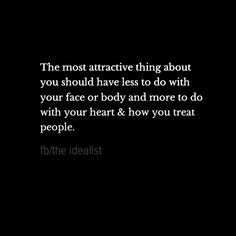 The most attractive thing