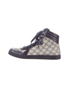 Gucci Alligator Trim Sneakers - was $670.0, now $345.0 (49% Off). Picked by mickster @ TheRealReal