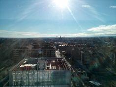 Vistas al Pilar desde el WTCZ #Zaragoza #Aragon