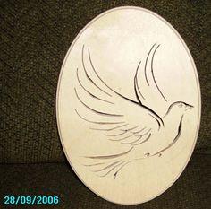 giraffe scroll saw patterns | My dove cut by sawtooth6