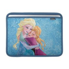 Disney Frozen Anna and Elsa Macbook Air Sleeve Disney Frozen Elsa, Anna Frozen, Disney Fun, Disney Movies, Disney Princess Gifts, Macbook Air Sleeve, Snow Queen, 21st Birthday, Cool Gifts