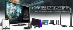 Win a Home Entertainment System and More!  #Giveaways #Contests