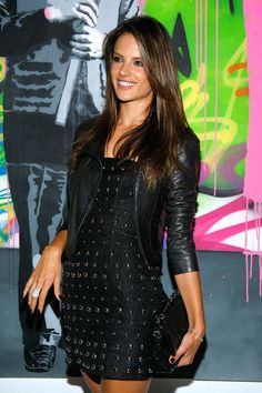Alessandra Ambrosio - Love the hair! She looks a little like Missy Peregrym here though..