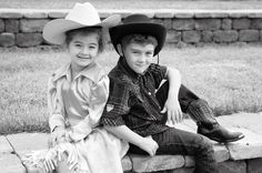 Country, brother sister posing, Photography by Roxann Morin Brother Sister, Cowboy Hats, Sisters, Country, Photography, Fashion, Moda, Photograph, Rural Area
