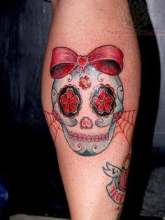 2bf10ab56 Sugar Skull Girl Tattoo   Sugar Skull Tattoos Pictures and Images : Page 87 Mexican  Skull