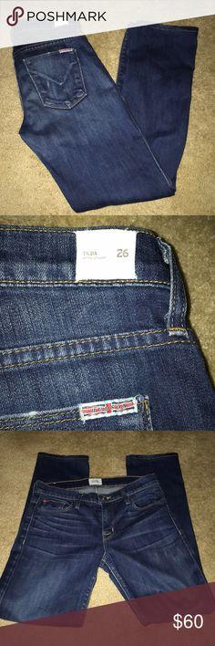 Hudson Tilda Midrise Straight Jeans Size 26 Hudson Tilda Midrise Straight Jeans Size 26  Inseam 28 inches Hudson Jeans Jeans Straight Leg