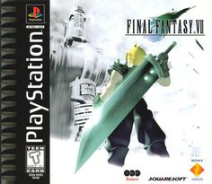 32x32 Giant Final Fantasy 7 VII Playstation 1 Poster on Silk. $24.99