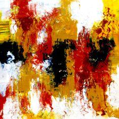 Original abstract painting: At Sunrise