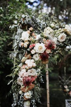 This Albuquerque Wedding Took Cues From the Natural Beauty of Historic Los Poblanos Ceremony Arch, Wedding Ceremony Decorations, Outdoor Wedding Venues, Wedding Arches, Wedding Ideas, Wedding Inspiration, Winter Wedding Flowers, Floral Wedding, Wedding Bouquets