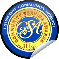 #14 Community Service....I want to increase my personal service to the community as well as get my family involved