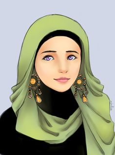 Hijab Girl by fishurr.deviantart.com on @DeviantArt *What's meant to be will always find its way...
