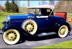 Vintage Car Models 1931 Ford Model A Roadster Ford Roadster, Car Ford, Ford Motor Company, Vintage Cars, Antique Cars, Ford Lincoln Mercury, Classy Cars, Ford Classic Cars, Super Sport Cars
