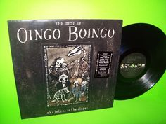 Oingo Boingo – The Best Of : Skeletons In The Closet Vinyl LP Record Rare PROMO #1980sElectroSynthNewWave