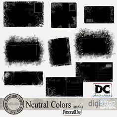 Neutral Colors masks