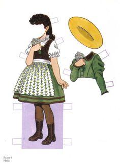 Favorite Storybook Characters - Heidi