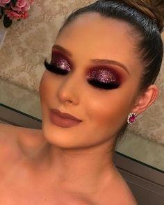 Glam Makeup Look, Makeup Eye Looks, Glamorous Makeup, Flawless Makeup, Gorgeous Makeup, Pretty Makeup, Make Up Looks, Glitter Makeup, Eyeshadow Makeup