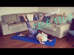 (77) 10 minútový FitLady tréning na celé telo, kardio cvičenie pre ženy s vlastnou váhou - YouTube Toddler Bed, Health Fitness, Youtube, Diet, Child Bed, Fitness, Youtubers, Youtube Movies, Health And Fitness
