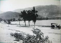 Lagoa Rodrigo de Freitas 1921. Rio de janeiro - Brasil