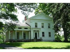 Our Little Big House - Page 2 of 55 - Greek Revival Farmhouse Renovation in the Western Catskills Abandoned Houses, Old Houses, Farm Houses, Dream Houses, Little Big House, Colonial, Greek Revival Architecture, Greek Revival Home, Modern Farmhouse