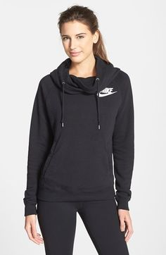 Women's Nike Rally Funnel Neck Pullover - Hoodie SM448499h