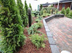 Terraced Backyard, Outdoor Living, Outdoor Decor, Landscape Design, Sidewalk, Patio, Gardening, Home, Outdoor Life
