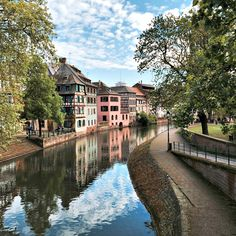 Here are five reasons you'll fall head over pieds for Strasbourg, a charming French town with a German accent along the Rhine River.