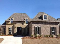 Acadian House Plan 56310SM gives you 3 beds, 2.5 baths and over 2,200 sq. ft. of living.   #readywhenyouare